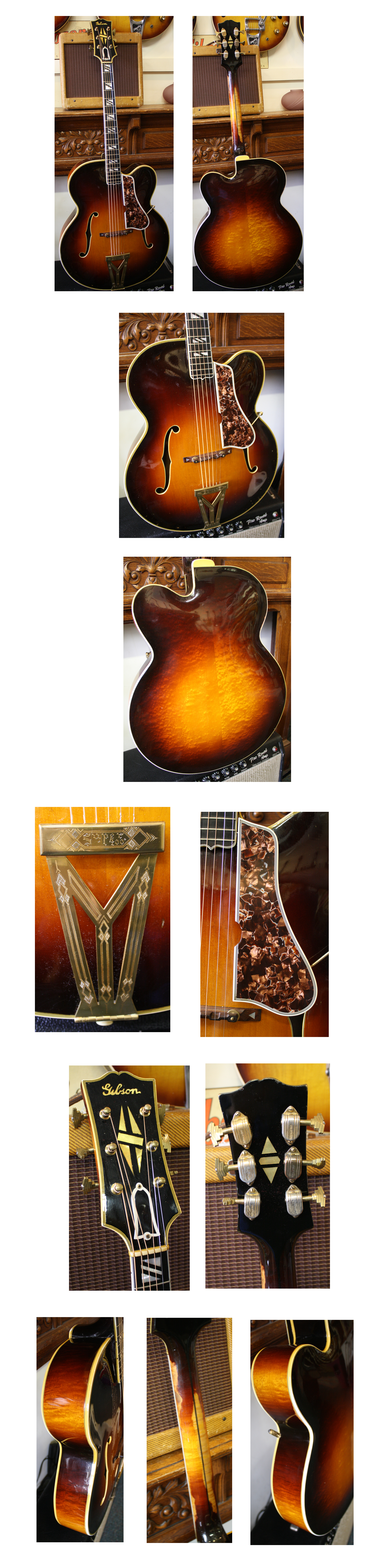 Lark Street Music Vintage Guitars Teaneck Nj Allparts Ep 4131000 Wiring Kit For Tele With 4 Way Switch Reverb 1250 Gibson Super 400 Premier 1940 Sunburst 18 Cutaway No Cracks Or Repairs Other Than Possible Neck Reset All Original Parts And Finish
